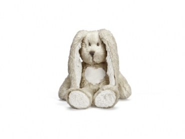 Teddy Cream Hase, mini, grau