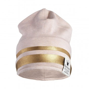 Beanie - Gilded Pink 0-6m