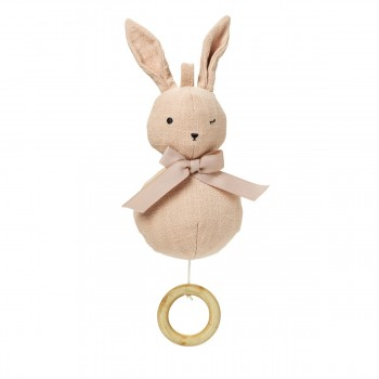 Musik-Mobile - Powder pink Bunny Belle